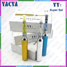 e cigarette YY1, E cigarette and power bank 2 in 1 function design, Three colors indicator ,continuously press the led button 5 times to burn the battery on/off,the three colors(white,blue,red)led indicators will flash 3 times at the same time,led light indicates capacity battery power,more imformation pls  feel free to contact me ,my email is christy.yacya@hotmail.com,my skype is christyzch