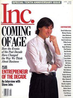 The Entrepreneur of the Decade – Steve Jobs All About Steve, Anne Robinson, Yvon Chouinard, My Life Plan, Steve Jobs Apple, Business Magnate, Steve Wozniak, Small Company, Apple Inc