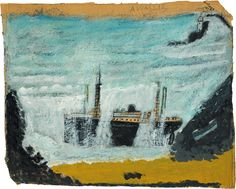 The Wreck of the Alba is currently on show at the Falmouth Gallery for their exhibition Wreck and Ruin until 3 September 2016.