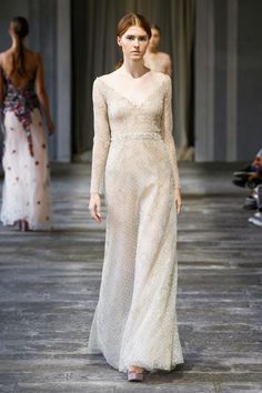 Wedding Dresses for the Fashion Obsessed: If you've ever had a wedding fantasy in which you play the part of the Medieval bride, this Luisa Beccaria gown is for you, my lady.