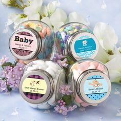 BabyShower Personalized Glass Jar - Baby Shower