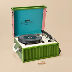 Fossil, Portable Record Player