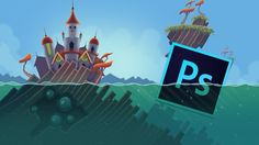 Learn Professional Game Graphic Design in Photoshop [Udemy Free Coupon - Off] - Filed under Design Free Game Development Photoshop Udemy Photoshop Design, Photoshop Tutorial, Adobe Photoshop, Photoshop Course, Basic Drawing, Drawing Skills, 2d Game Background, Shops, Digital Backgrounds