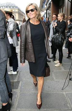 Claire Chazal Clothes