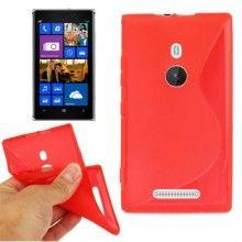 Funda Lumia 925 - Sline Roja  $ 94.14
