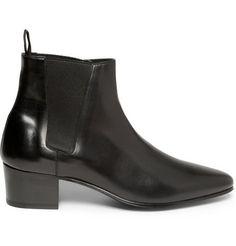 Saint Laurent Leather Chelsea Boots | MR PORTER