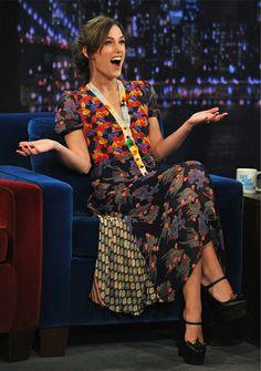 Pam Hogg - great mixed pattern dress
