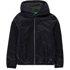 Benetton Benetton Hood Jacket Gi93 Junior Boy 13C Navy Benetton, Kids Coats, Outdoor Outfit, Hooded Jacket, Kids Outfits, Rain Jacket, Windbreaker, Navy, Jackets