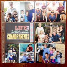 Layered Card Templates: Grandparents by Cindy Schneider