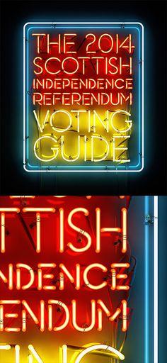 Scottish Referendum by Rizon Parein