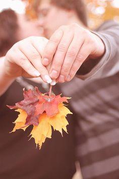 Fall, engagement, plus sized, beautiful photos!