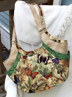 "this is Shirley Allen's ""in-flight"" Quattro.  November 2012 Handbag of the Month 