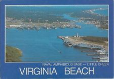 US Naval Amphibious Base Little Creek Virginia Beach USN Navy Base VA