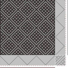 draft image: Page 156, Figure 24, Donat, Franz Large Book of Textile Patterns, 18S, 18T