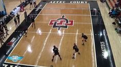 Four Square Pepper Trailer - The Art of Coaching Volleyball