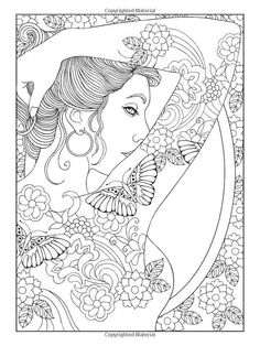 goddesses coloring book - Google Search | Adult coloring ...