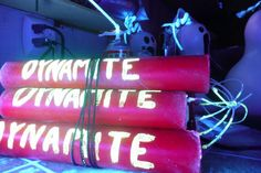 how to make Halloween dynamite halloween props
