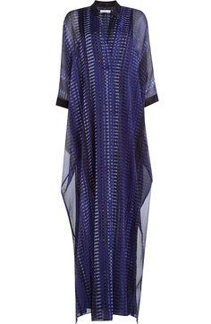 Printed V-Neck Caftan detail 0 Short Sleeve Dresses, Dresses With Sleeves, Cover Up, V Neck, Printed, Detail, Shopping, Fashion, Moda
