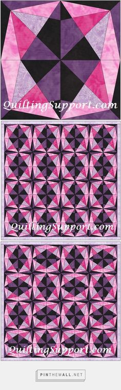 Floral Star Template Patterns