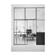 Steel Window Design specialise in the design and manufacture of steel windows and steel doors for all sectors of the. Steel Windows, Windows And Doors, Huge Windows, Black Windows, Modern Windows, Iron Windows, Panel Doors, Home Interior, Interior Architecture