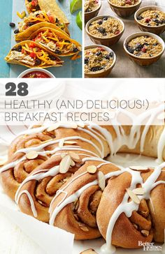 Start your day off right with one of these protein-loaded breakfast recipes: http://www.bhg.com/recipes/healthy/breakfast/heart-healthy-breakfast-recipes/?socsrc=bhgpin031214healthybreakfast #breakfast #recipe #wednesday #recipes #delicious