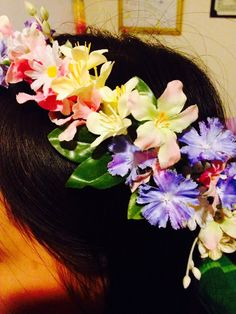 Floral crown for a friend.