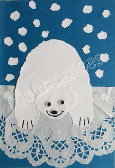 Mauriquices: Zvířata | zvěř Winter Kids, Winter Art, Winter Theme, Winter Christmas, Craft Activities For Kids, Winter Activities, Winter Jokes, Polo Norte, Snow Much Fun