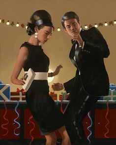 Jack Vettriano - Lets Twist Again