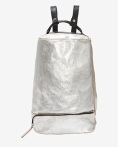 Collection PRIVÉE Cracked Leather Backpack