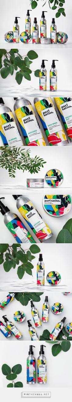 Pari Satiss Exclusive Natural Cosmetics Line Packaging by Fabula Branding