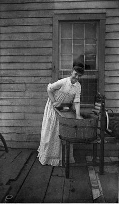 """C.G. Davis, USA - """"Blue Monday"""", ca 1880  You don't often see people smiling in these older photos..."""