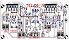 amplificador tda7293 estereo potencia 700x410 Amplificador de potência de áudio estéreo com TDA7293   100W RMS circuito audio circuito circuito amplificador