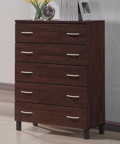 Look at this Maison Modern & Contemporary Five-Drawer Storage Chest on #zulily today!