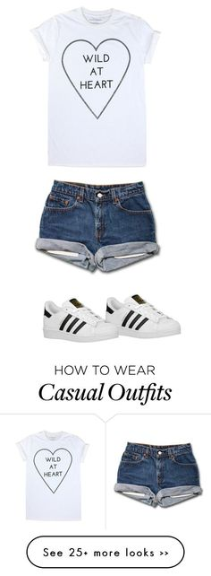 """""""Casual"""" by rileybrill on Polyvore featuring Mode und adidas Originals"""