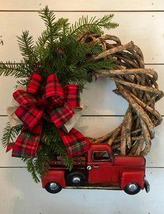 Wreath w/lil red