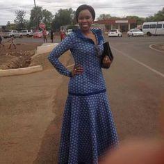 Umembeso Shweshwe Dresses for Women 2019 - Styles Art