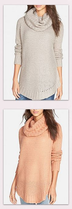 Cozy sweaters in ALL the prettiest shades!