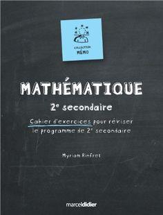 Mémo mathématique 2ième secondaire de Rinfret Myriam http://www.amazon.ca/dp/2891445023/ref=cm_sw_r_pi_dp_4wz3ub0F7PMPY