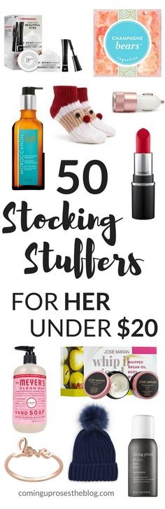 stocking stuffers, gift guide, gift guide for her, stocking stuffers for her, stocking stuffers under $20, christmas