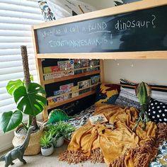 Kura Ikea, Trofast Ikea, Kura Bed Hack, Big Girl Bedrooms, Kids Bedroom, Kid Beds, Girl Room, Ikea Kids Bookshelf, Bookshelf Bed