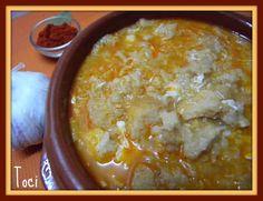 Sopa castellana (sopas de ajo)
