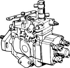 Bosch VE distributor pump (used on the 300Tdi engine