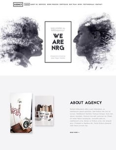 How to Create Agency Websites With WordPress Theme Designs Web Design Agency, Web Design Tips, Best Web Design, Web Design Trends, Simple Wordpress Themes, Wordpress Theme Design, Photoshop For Photographers, Photoshop Photography, Photoshop Design
