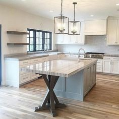 Tantalizing Kitchen design layout for restaurant,Kitchen remodel quad cities and Small kitchen makeover cost. Kitchen Redo, New Kitchen, Kitchen Cabinets, Kitchen Ideas, Kitchen Unit, White Cabinets, Rustic Kitchen, Country Kitchen, Kitchen Photos