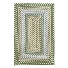 Beachcrest Home Berkley Pad Green Rug Rug Size: 2' x 4'