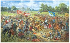 The Battle of Grunwald or First Battle of Tannenberg was fought on 15 July 1410, during the Polish–Lithuanian–Teutonic War. The alliance of Poland & the Grand Duchy of Lithuania, led respectively by King Władysław Jagiełło and Grand Duke Vytautas, decisively defeated the German–Prussian Teutonic Knights, led by Grand Master Ulrich von Jungingen. The battle shifted the balance of power in Eastern Europe and marked the rise of the Poland as the dominant political and military force in the…