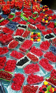 berries, Borough Market, London, England