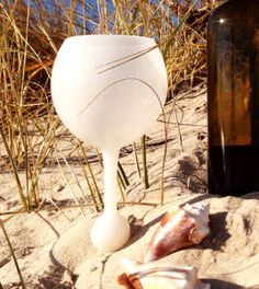 white sands beach glass