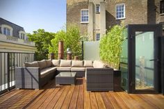 Rooftop terraces and gardens not only provide an oasis of calm in city and town centres, but will also more than pay for themselves