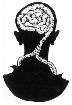 you'll be the death of yourself - brain noose around the neck thoughts maybe a tattoo idea